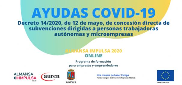 Talleres Formativos sobre las Ayudas en Castilla La Mancha para empresas y Emprendedores COVID19