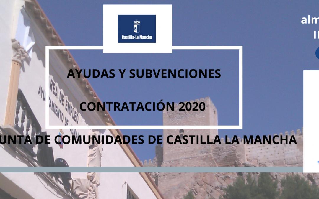 Información sobre las Ayudas para la Contratación de la Junta de Comunidades de Castilla La Mancha.