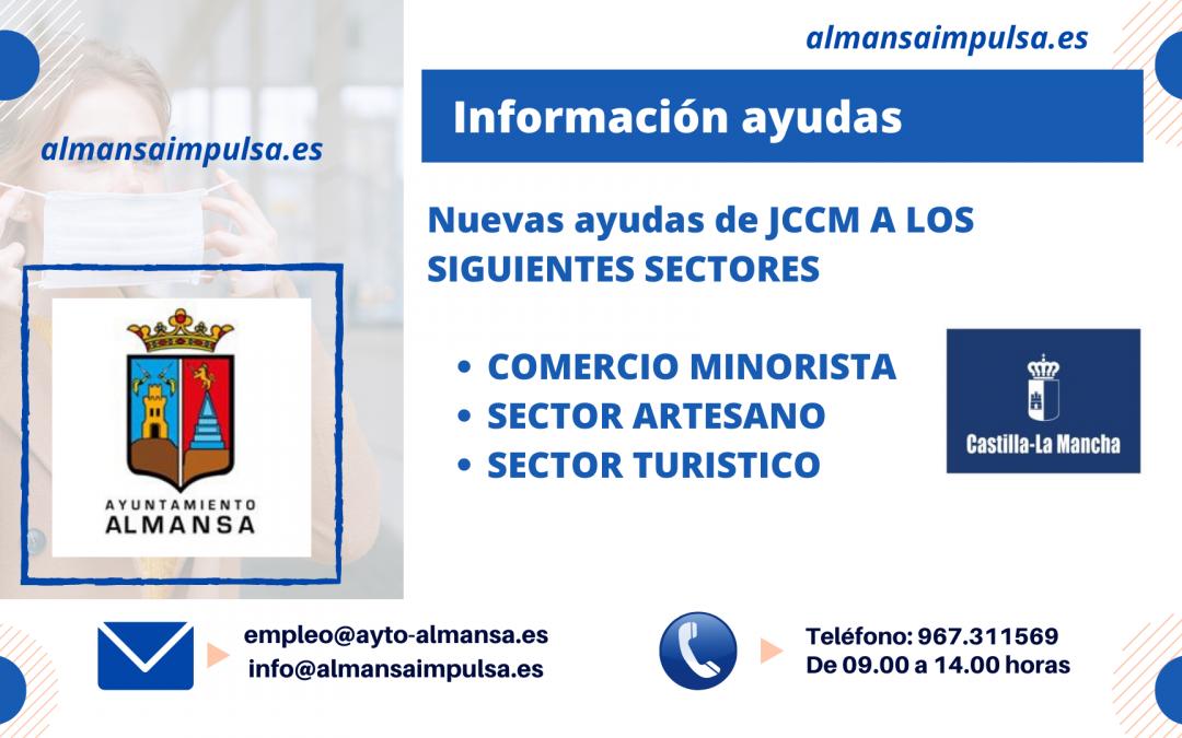Información para empresas de nuevas Ayudas JCCM para comercio minorista, turismo y artesanos