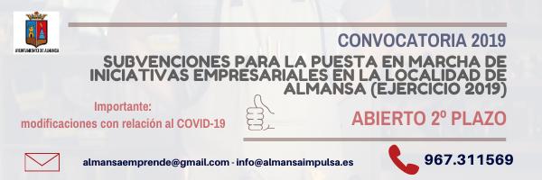 Abierto el segundo plazo de las Ayudas Locales para la puesta en marcha de iniciativas empresariales 2019.