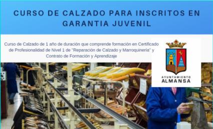 Abierta la Inscripción para PLAN IMPULSA JOVEN CALZADO 2020