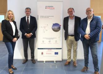 """La Fundación INCYDE visita las instalaciones de la Incubadora de Alta Tecnología """"Almansa Impulsa"""""""