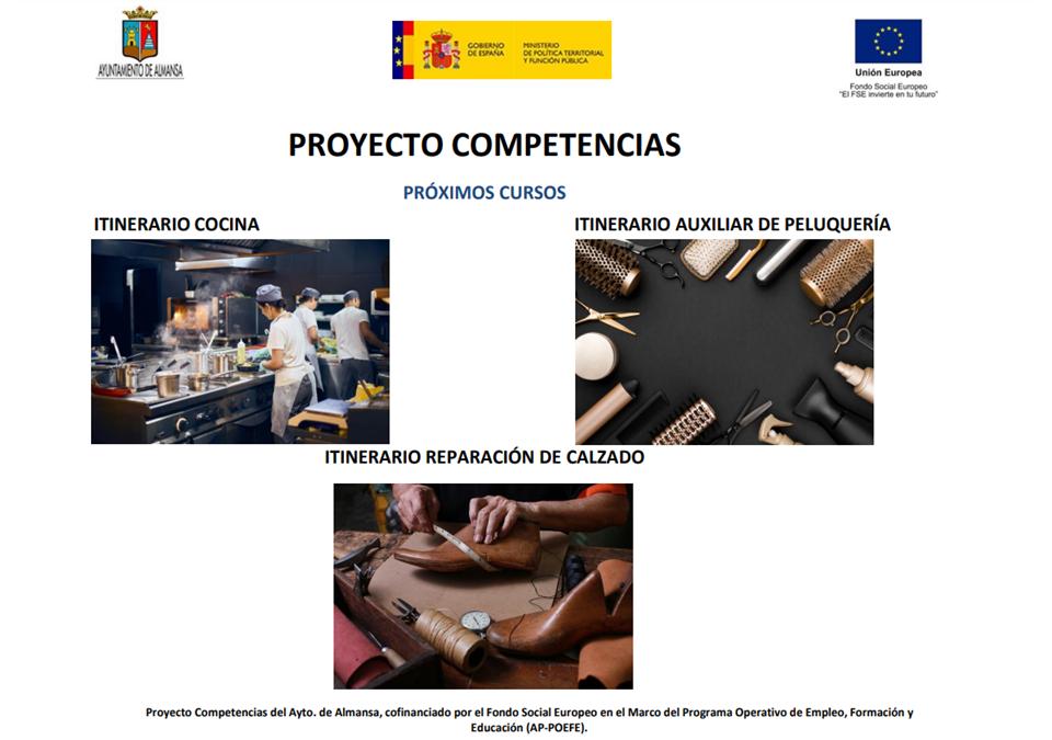 Próximos cursos Proyecto Competencias (AP-POEFE)