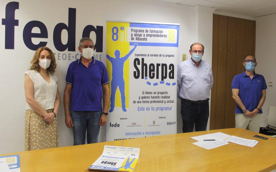 8ª Edición del Programa de formación y apoyo a emprendedores de Albacete Sherpa 2020