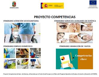 Arranca el Proyecto Competencias con 4 cuatro cursos de formación | Abierto el plazo de inscripción de la primera fase
