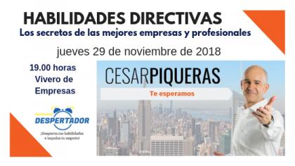 CONFERENCIA: HABILIDADES DIRECTIVAS «Los secretos de las mejores empresas y profesionales»
