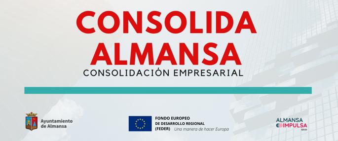 CURSOS GRATUITOS ITINERARIO DE CONSOLIDACIÓN EMPRESARIAL | CONSOLIDA ALMANSA