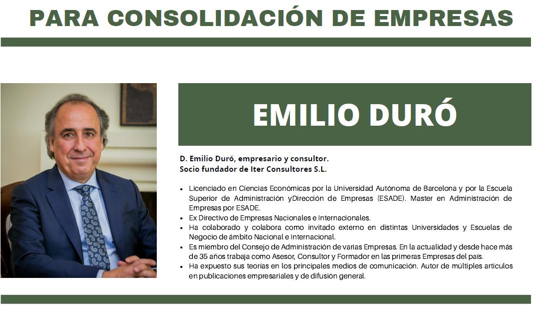 Emilio Duró en Almansa, el próximo 5 de marzo en el Teatro Regio