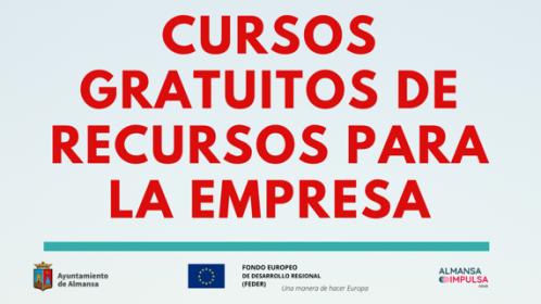 CURSOS GRATUITOS DE RECURSOS PARA LA EMPRESA | CONSOLIDA ALMANSA