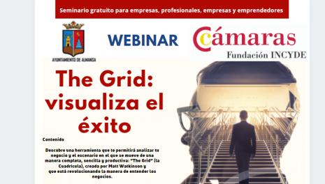 """Webinar Gratuito: """"The Grid: visualiza el éxito"""" – Lunes 21 de junio, on-line de 17 a 19.00  horas"""